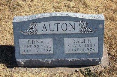 ALTON, EDNA - Baca County, Colorado | EDNA ALTON - Colorado Gravestone Photos