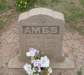 AMES, CLEO EARL - Baca County, Colorado | CLEO EARL AMES - Colorado Gravestone Photos
