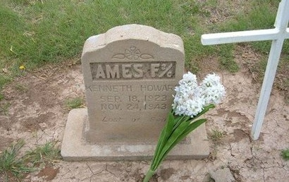 AMES (VETERAN WWII KIA)), KENNETH HOWARD - Baca County, Colorado   KENNETH HOWARD AMES (VETERAN WWII KIA)) - Colorado Gravestone Photos
