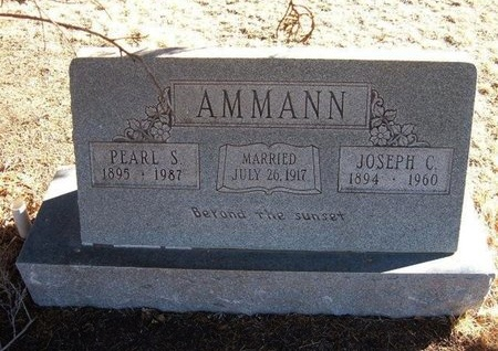 AMMANN, JOSEPH C - Baca County, Colorado | JOSEPH C AMMANN - Colorado Gravestone Photos