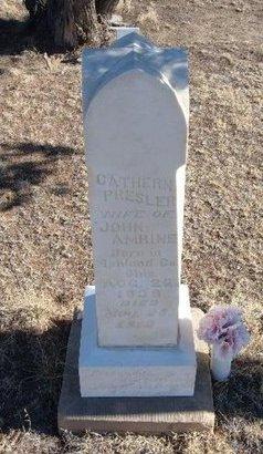 AMRINE, CATHERINE - Baca County, Colorado | CATHERINE AMRINE - Colorado Gravestone Photos