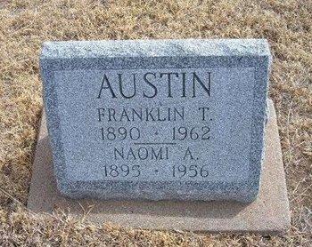 AUSTIN, NAOMI A - Baca County, Colorado | NAOMI A AUSTIN - Colorado Gravestone Photos