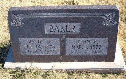 BAKER, MAUDE J - Baca County, Colorado | MAUDE J BAKER - Colorado Gravestone Photos