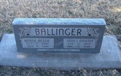 BALLINGER, JAMES MARTIN - Baca County, Colorado | JAMES MARTIN BALLINGER - Colorado Gravestone Photos