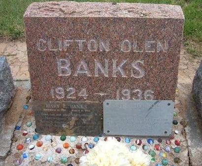 BANKS, OLEN HOYT - Baca County, Colorado   OLEN HOYT BANKS - Colorado Gravestone Photos
