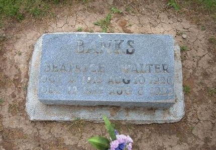 BANKS, BEATRICE - Baca County, Colorado | BEATRICE BANKS - Colorado Gravestone Photos