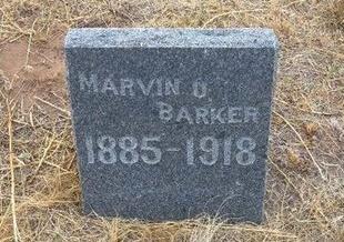 BARKER, MARVIN URIAS - Baca County, Colorado | MARVIN URIAS BARKER - Colorado Gravestone Photos