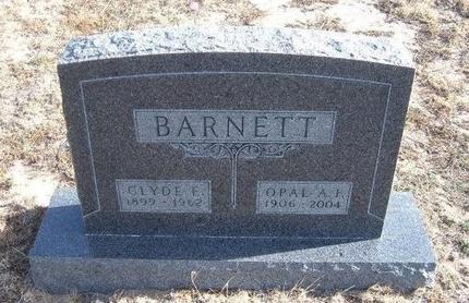 BARNETT, OPAL A F - Baca County, Colorado | OPAL A F BARNETT - Colorado Gravestone Photos