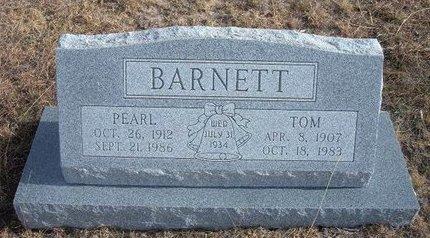BARNETT, TOM - Baca County, Colorado | TOM BARNETT - Colorado Gravestone Photos