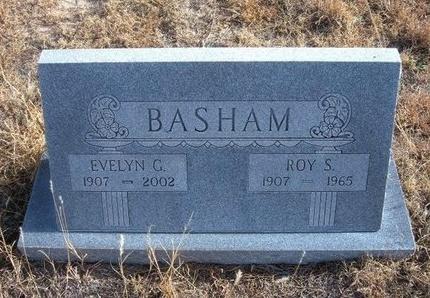 BASHAM, ROY S - Baca County, Colorado | ROY S BASHAM - Colorado Gravestone Photos