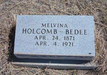 BEDEE, MELVINA - Baca County, Colorado   MELVINA BEDEE - Colorado Gravestone Photos