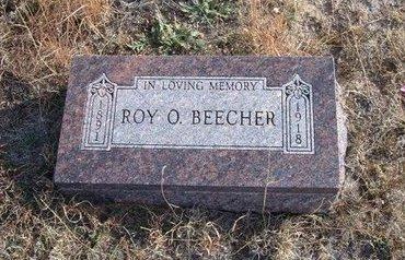 BEECHER, ROY O - Baca County, Colorado | ROY O BEECHER - Colorado Gravestone Photos