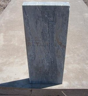 BETANCOURT, JOSE - Baca County, Colorado | JOSE BETANCOURT - Colorado Gravestone Photos