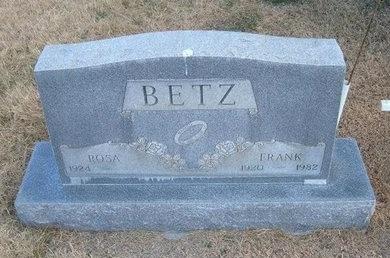 BETZ, FRANK - Baca County, Colorado   FRANK BETZ - Colorado Gravestone Photos