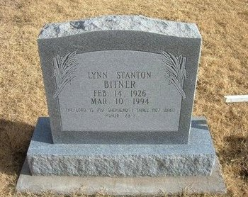 BITNER, LYNN STANTON - Baca County, Colorado   LYNN STANTON BITNER - Colorado Gravestone Photos