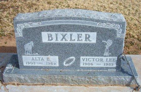 BIXLER, ALTA E - Baca County, Colorado | ALTA E BIXLER - Colorado Gravestone Photos