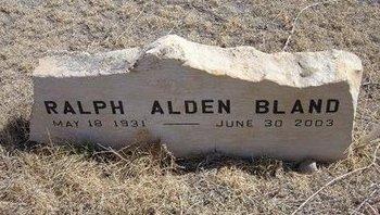 BLAND, RALPH ALDEN - Baca County, Colorado | RALPH ALDEN BLAND - Colorado Gravestone Photos