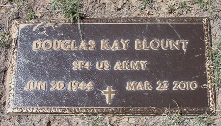BLOUNT (VETERAN), DOUGLAS KAY - Baca County, Colorado   DOUGLAS KAY BLOUNT (VETERAN) - Colorado Gravestone Photos
