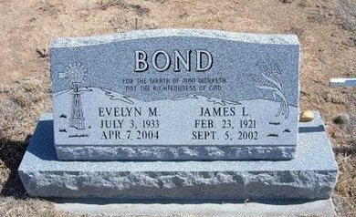 BOND, EVELYN M - Baca County, Colorado | EVELYN M BOND - Colorado Gravestone Photos