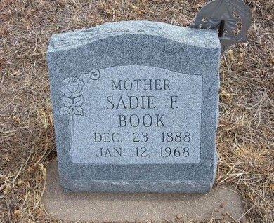 BOOK, SADIE F - Baca County, Colorado   SADIE F BOOK - Colorado Gravestone Photos