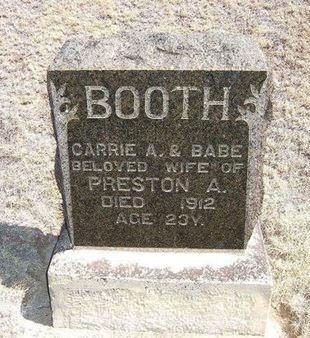 BOOTH, BABE - Baca County, Colorado | BABE BOOTH - Colorado Gravestone Photos
