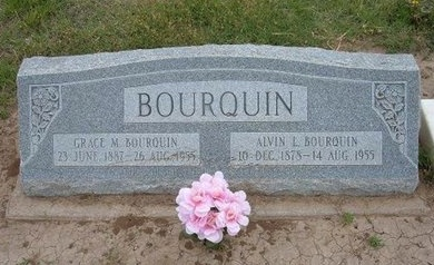 BOURQUIN, GRACE M - Baca County, Colorado | GRACE M BOURQUIN - Colorado Gravestone Photos