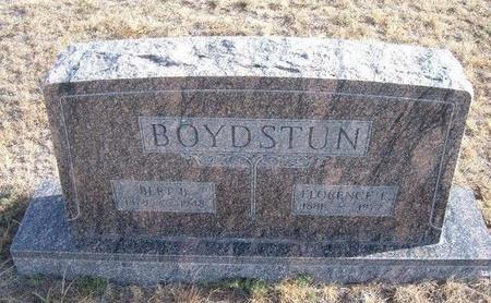 BOYDSTUN, FLORENCE E - Baca County, Colorado | FLORENCE E BOYDSTUN - Colorado Gravestone Photos