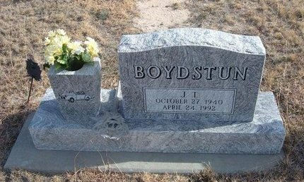 BOYDSTUN, J T - Baca County, Colorado | J T BOYDSTUN - Colorado Gravestone Photos