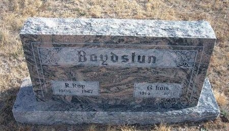 BOYDSTUN, GARNA KOIS - Baca County, Colorado | GARNA KOIS BOYDSTUN - Colorado Gravestone Photos
