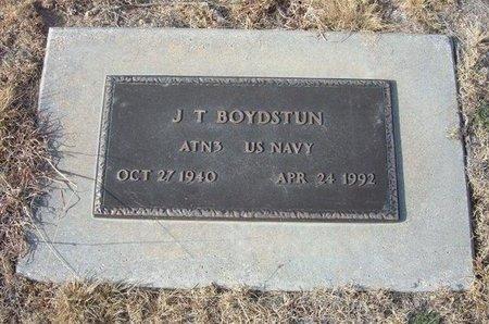 BOYDSTUN (VETERAN), J T - Baca County, Colorado   J T BOYDSTUN (VETERAN) - Colorado Gravestone Photos
