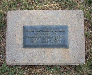 BRAGG, MARY KATHERINE - Baca County, Colorado | MARY KATHERINE BRAGG - Colorado Gravestone Photos