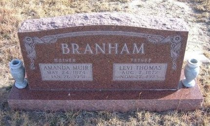 """BRANHAM, AMANDA """"MANDY"""" - Baca County, Colorado   AMANDA """"MANDY"""" BRANHAM - Colorado Gravestone Photos"""