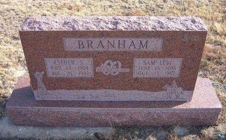 BRANHAM, ESTHER - Baca County, Colorado | ESTHER BRANHAM - Colorado Gravestone Photos