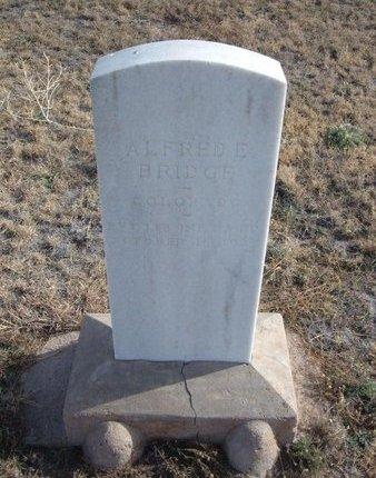 BRIDGE (VETERAN WWI), ALFRED ELI - Baca County, Colorado   ALFRED ELI BRIDGE (VETERAN WWI) - Colorado Gravestone Photos