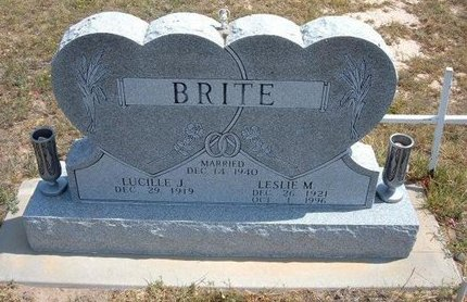 "BRITE, LESLIE MONTE ""TUNIE"" - Baca County, Colorado 