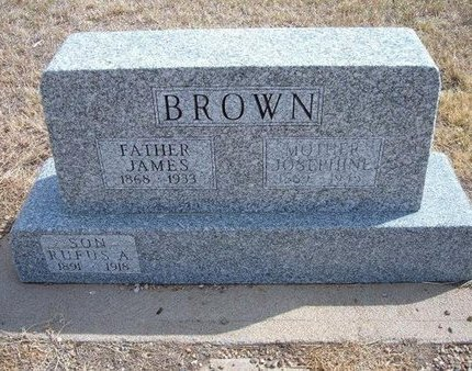 BROWN, RUFUS ARTHUR - Baca County, Colorado | RUFUS ARTHUR BROWN - Colorado Gravestone Photos