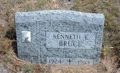 BRUCE, KENNETH E - Baca County, Colorado   KENNETH E BRUCE - Colorado Gravestone Photos