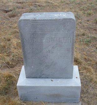 BUTLER, NOBLE - Baca County, Colorado | NOBLE BUTLER - Colorado Gravestone Photos