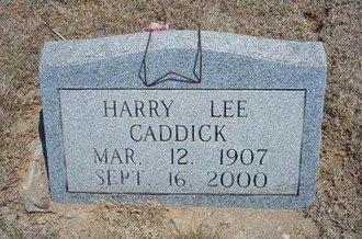 CADDICK, HARRY LEE - Baca County, Colorado | HARRY LEE CADDICK - Colorado Gravestone Photos