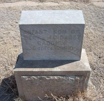 CADDICK, INFANT SON - Baca County, Colorado   INFANT SON CADDICK - Colorado Gravestone Photos