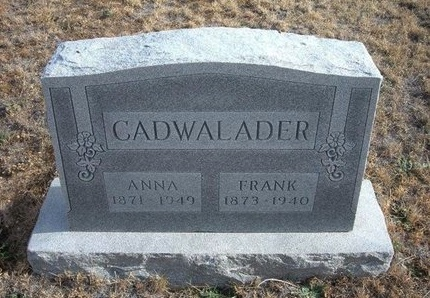 BOSWELL CADWALADER, ANNA R - Baca County, Colorado | ANNA R BOSWELL CADWALADER - Colorado Gravestone Photos