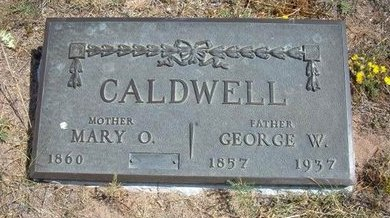 CALDWELL, GEORGE W - Baca County, Colorado | GEORGE W CALDWELL - Colorado Gravestone Photos