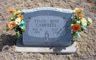 CAMPBELL, TYSON KENT - Baca County, Colorado | TYSON KENT CAMPBELL - Colorado Gravestone Photos