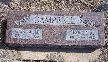 CAMPBELL, JAMES A - Baca County, Colorado | JAMES A CAMPBELL - Colorado Gravestone Photos