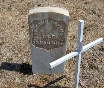 CAPANSKY (VETERAN UNION), FERDINAND - Baca County, Colorado | FERDINAND CAPANSKY (VETERAN UNION) - Colorado Gravestone Photos