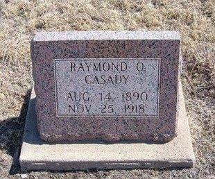CASADY, RAYMOND O - Baca County, Colorado   RAYMOND O CASADY - Colorado Gravestone Photos