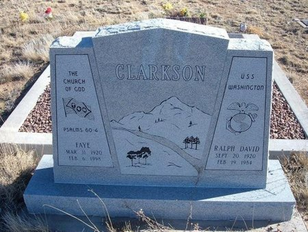 CLARKSON, FAYE - Baca County, Colorado | FAYE CLARKSON - Colorado Gravestone Photos