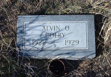 COLBY, ALVIN O - Baca County, Colorado | ALVIN O COLBY - Colorado Gravestone Photos