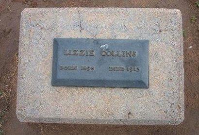 COLLINS, LIZZIE - Baca County, Colorado | LIZZIE COLLINS - Colorado Gravestone Photos