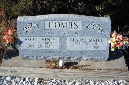 COMBS, ARCU HENRY - Baca County, Colorado   ARCU HENRY COMBS - Colorado Gravestone Photos